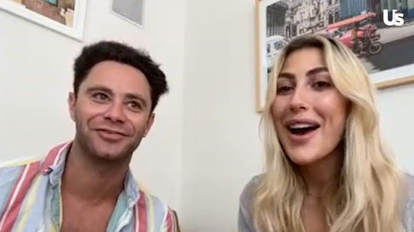 Dwts' Sasha Farber And Emma Slater Say Sharna Burgess And Brian Austin Green Are 'Fully In Love'