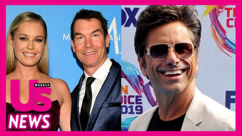 Jerry O'Connell Reveals Rebecca Romijn's Ex-Husband John Stamos Moved to Their Neighborhood