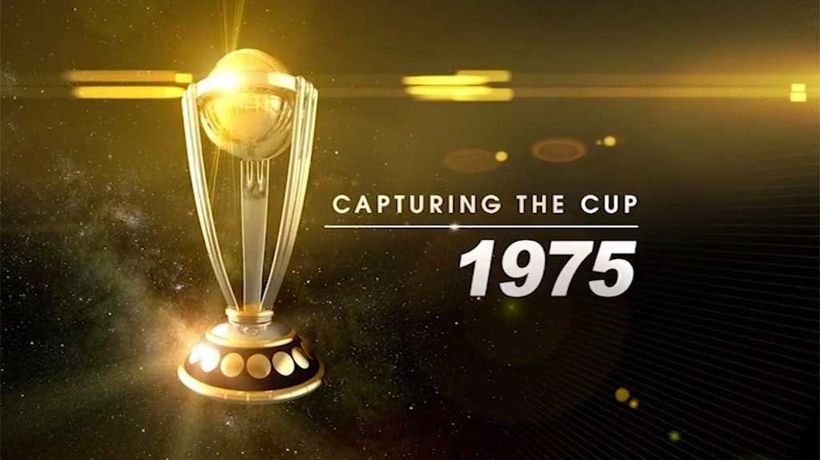 Capturing The Cup - Cricket World Cup 1975