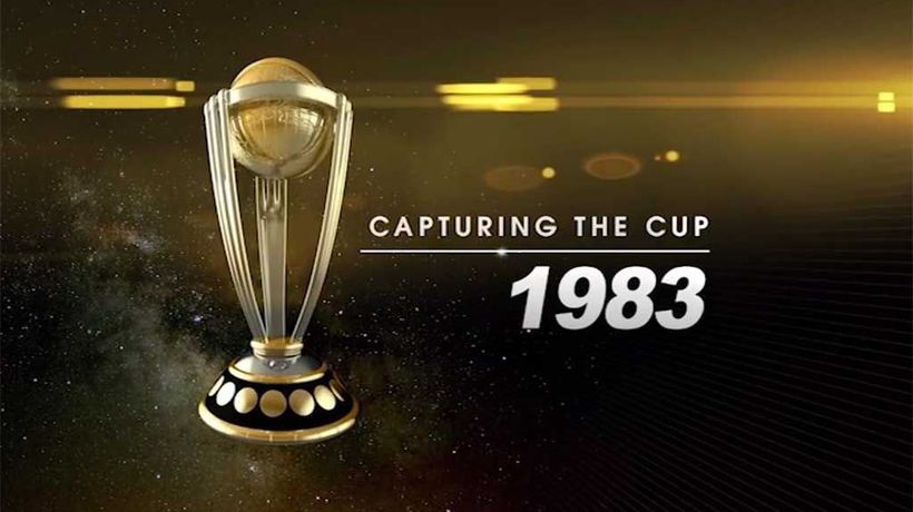 Capturing The Cup - Cricket World Cup 1983