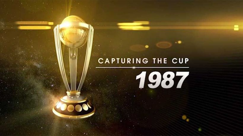 Capturing The Cup - Cricket World Cup 1987