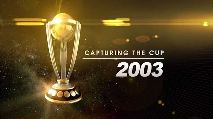 Capturing The Cup - Cricket World Cup 2003