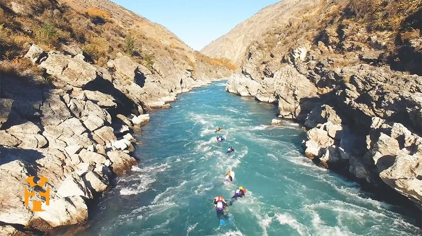 New Zealand Discoveries - Ride the River
