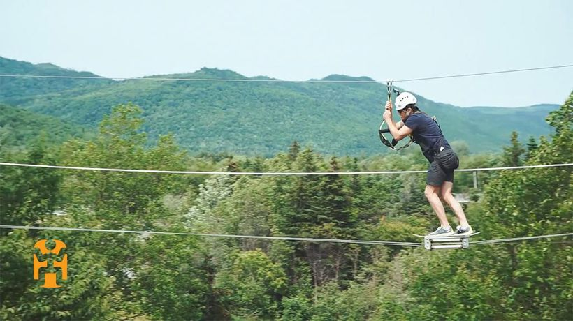 Canada Discoveries - Zip Lining Marble Mountain