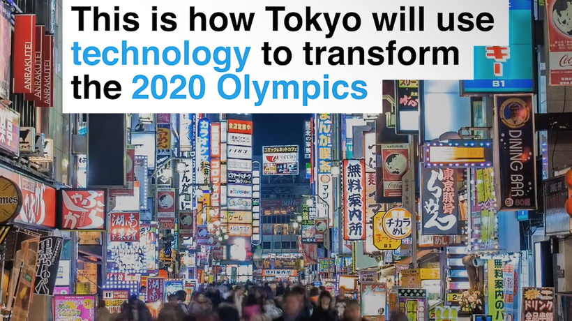This is how Tokyo will use technology to transform the 2020 Olympics
