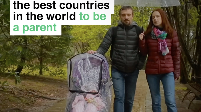 Sweden is one of the best countries in the world to be a parent