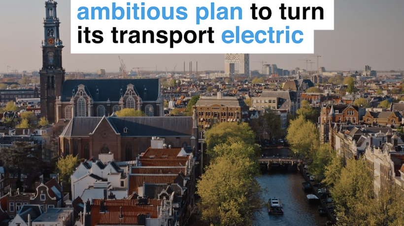 This is Amsterdam's ambitious plan to turn transport electric