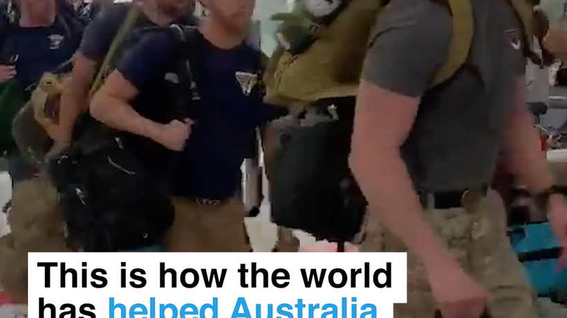This is how the world has helped Australia during its devastating bushfires