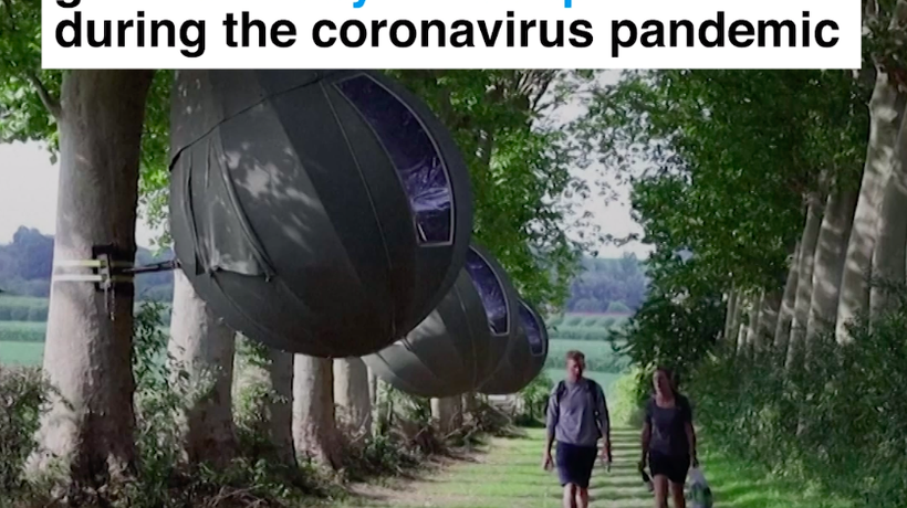 This is how people are going on holiday during coronavirus