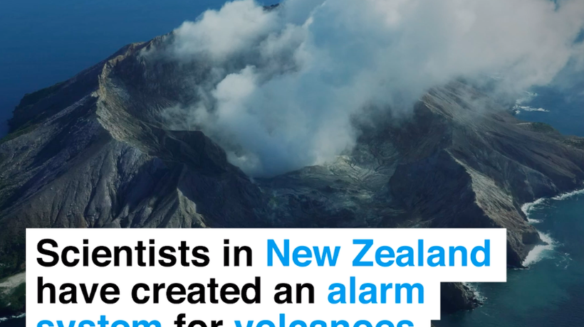 Volcano Alert System In New Zealand Could Save Lives