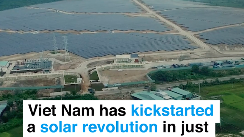How did Vietnam leapfrog Australia in solar power in just 2 years?