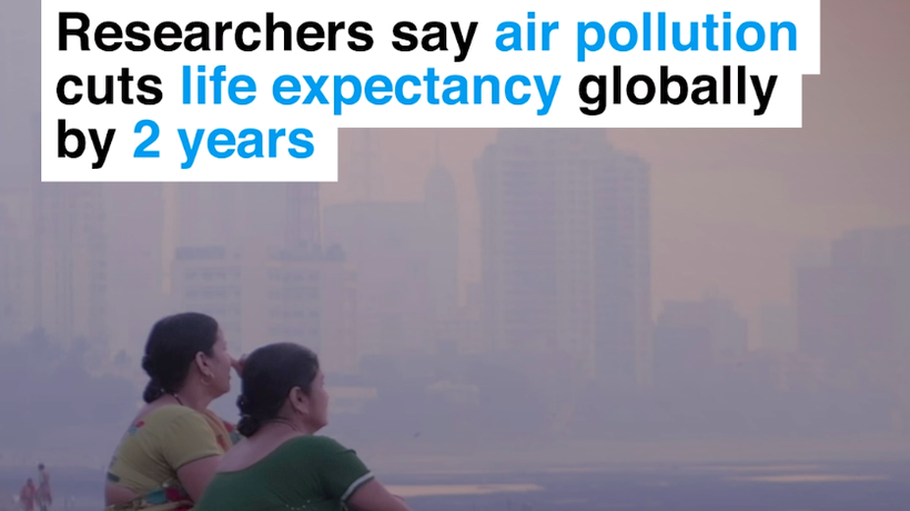 Air pollution greatest risk to global life expectancy