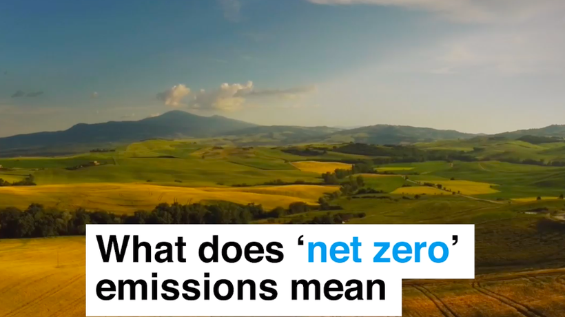 What does 'net zero' emissions mean and why does it matter?