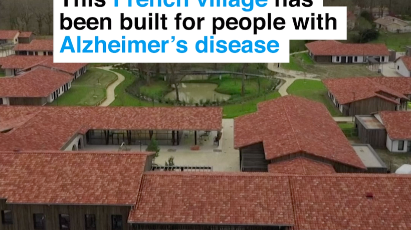 This French village has been built for people with Alzheimer's disease