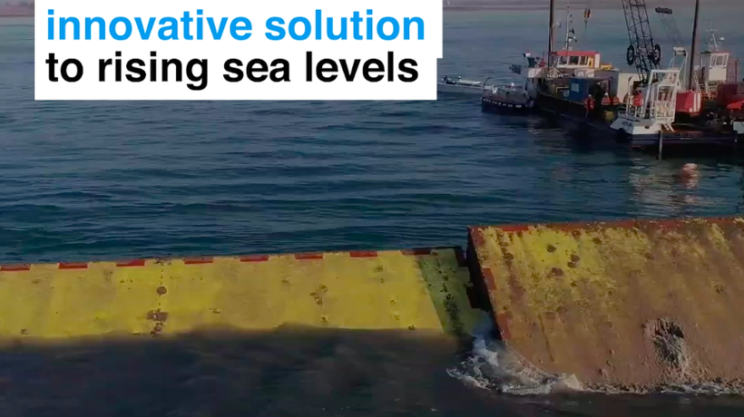 This is Venice's innovative solution to rising sea levels