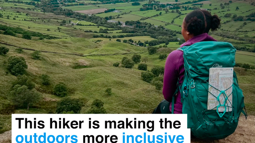 This hiker is making the outdoors more inclusive for Black people