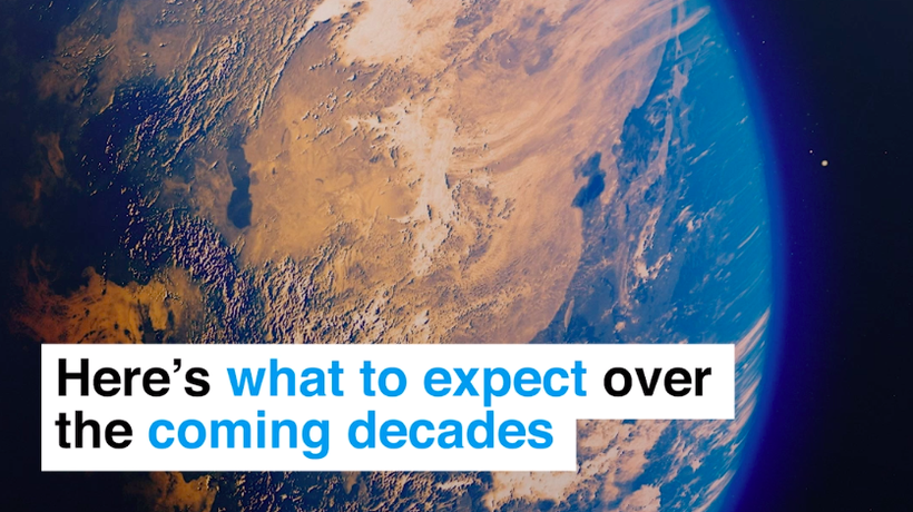 Here's what to expect over the coming decades if we take no action on climate change