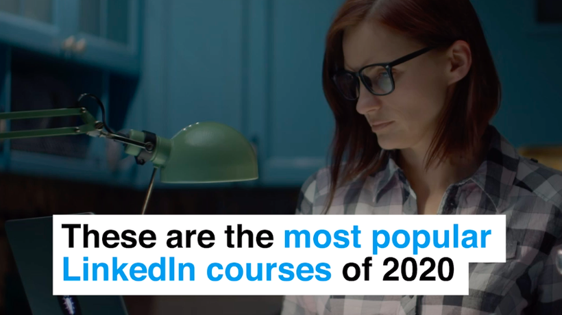 These are the most popular LinkedIn courses of 2020