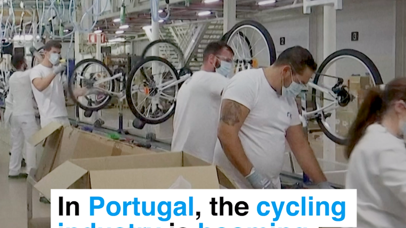In Portugal, the cycling industry is booming during the pandemic
