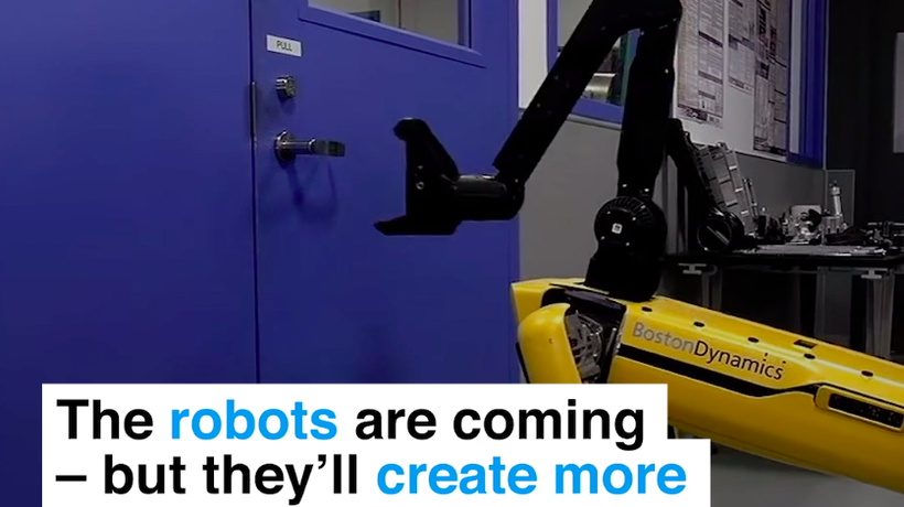 The robots are coming – but they'll create more jobs than they take