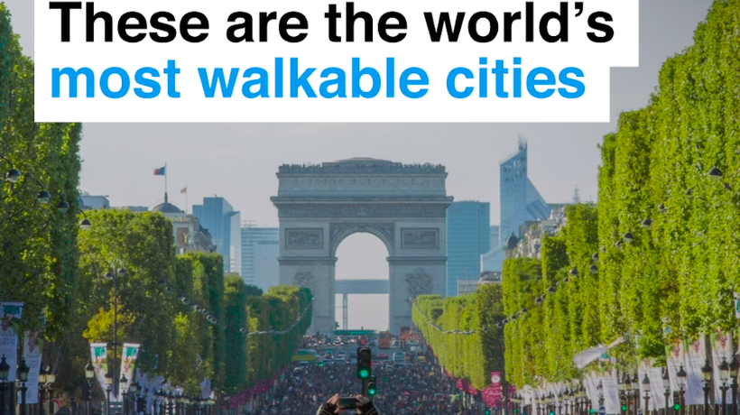 These are the world's most walkable cities