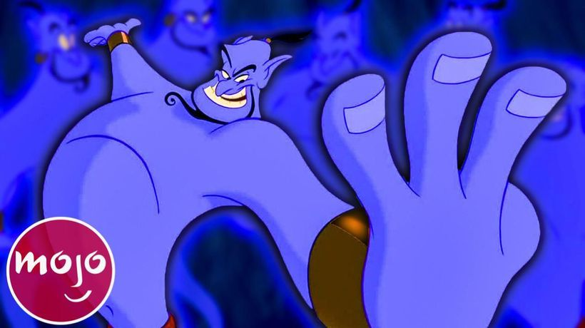 Top 10 Genie Moments in Aladdin