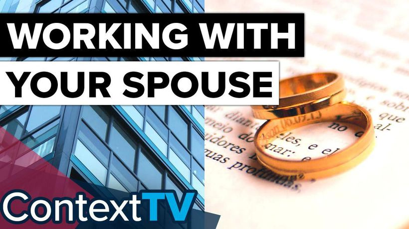 Can You Run A Business With Your Spouse?