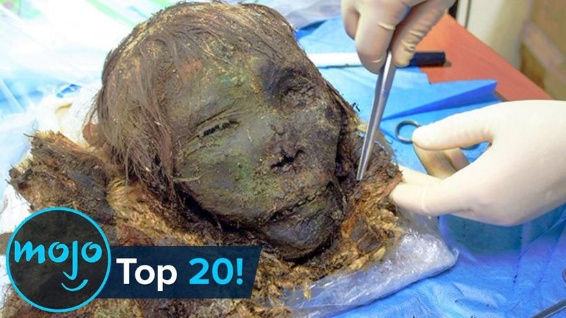Top 20 Creepiest Things Found Frozen in Ice