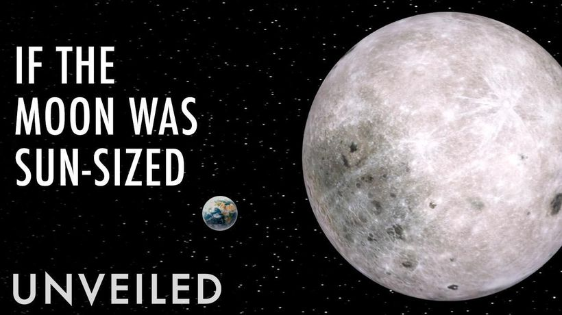 What If The Moon Was As Big As The Sun?   Unveiled