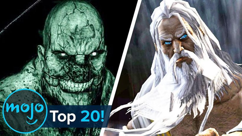Top 20 Video Game Bosses Who Kill You No Matter What