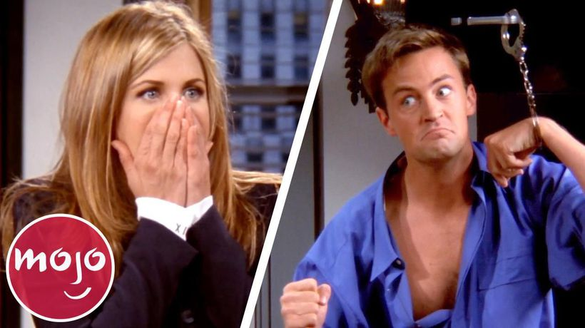 Top 10 Unscripted Friends Moments That Were Kept in the Show