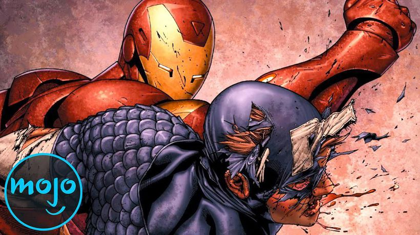 Top 10 Captain America Fights From the Comics