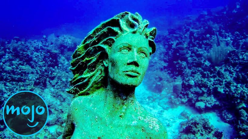 Top 10 Most Haunting Statues Found Underwater