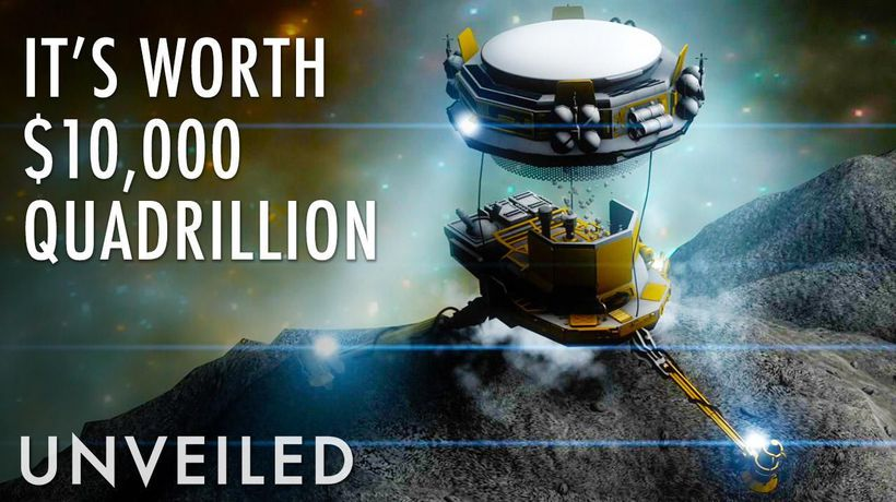 Why Hasn't Someone Mined this $10,000 Quadrillion Asteroid Yet?   Unveiled