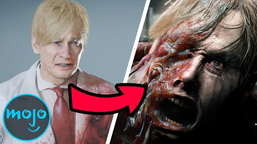 Top 10 Most Horrifying Transformations in Resident Evil Games