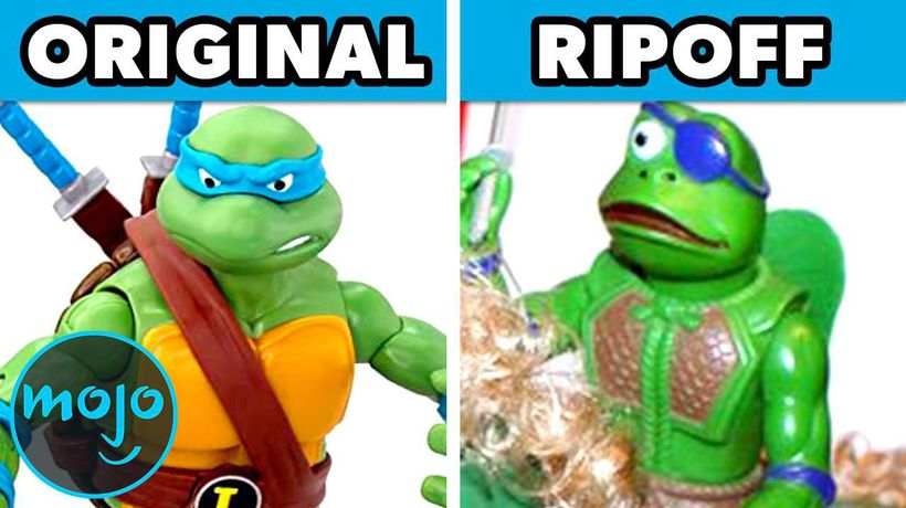 Top 10 Times Toys Were Ripped Off