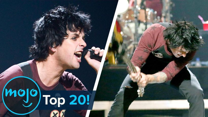 Top 20 Onstage Freakouts By Musicians