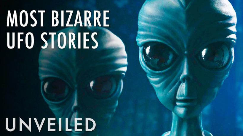 4 Most Bizarre UFO Claims Ever Recorded   Unveiled