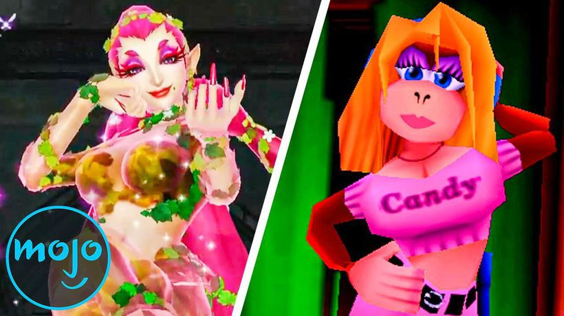 Top 10 Weirdly Sexualized Nintendo Characters