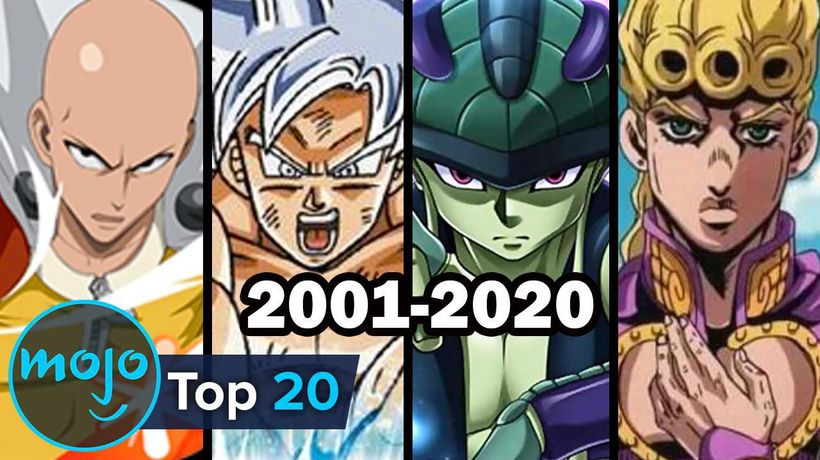 Top 20 Strongest Anime Characters of Each Year (2001-2020)
