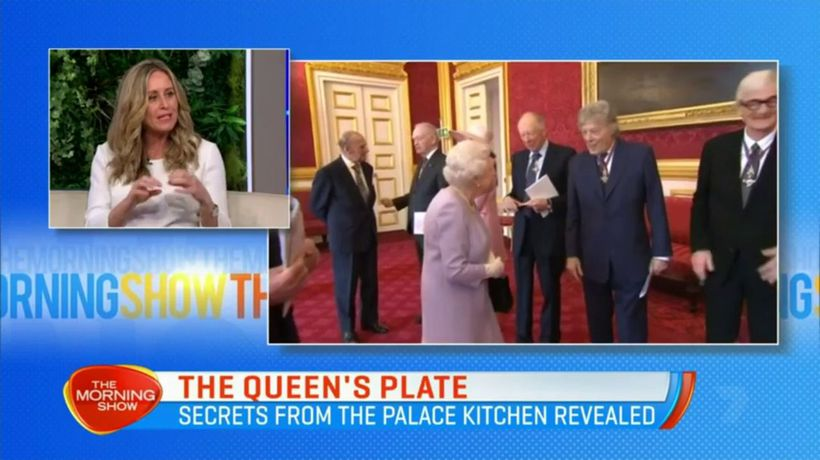 The Queen never eats square sandwiches