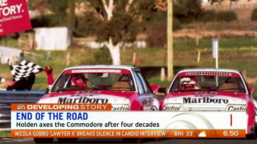 End of the road for Holden Commodore