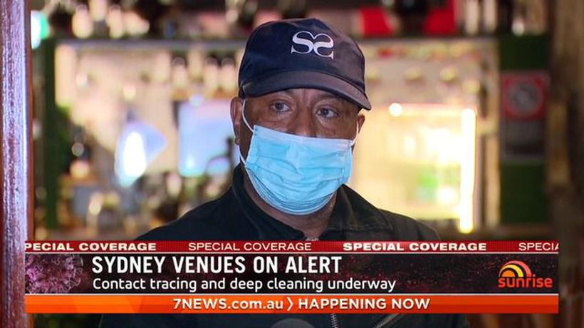Sydney venues on alert after COVID-19 case