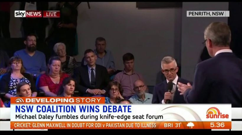 NSW coalition wins debate
