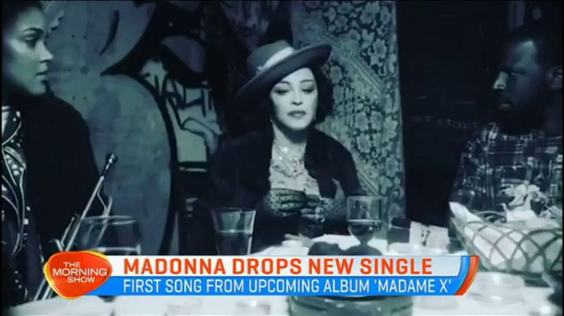 Madonna drops new single