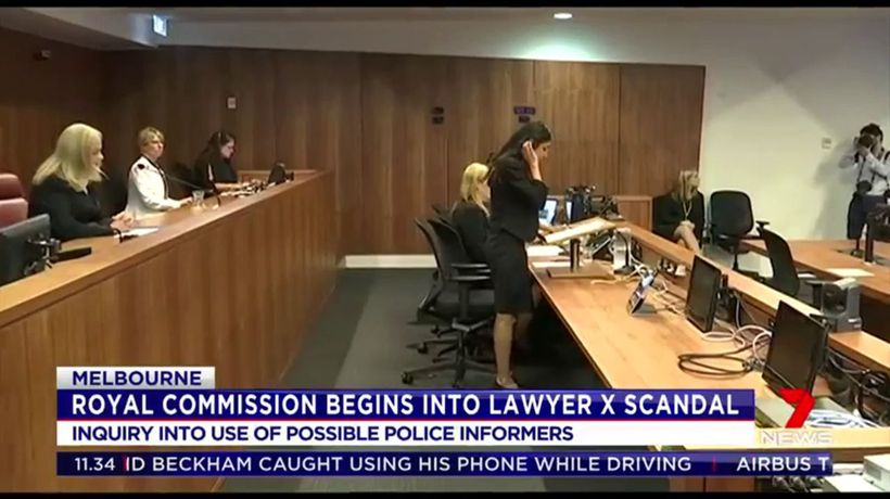 Royal Commission begins into Lawyer X scandal