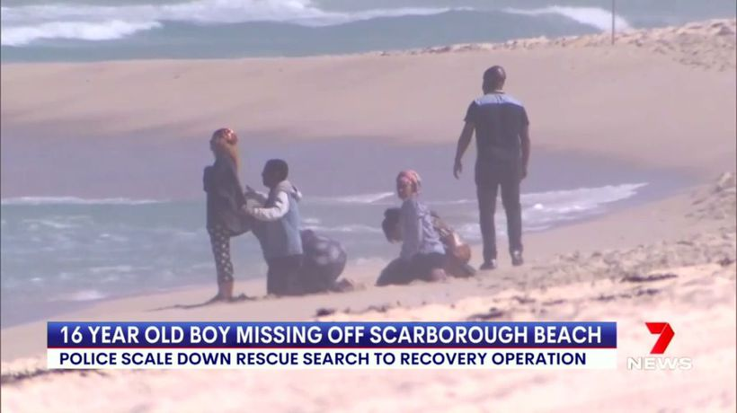 Police scale back Scarborough beach search