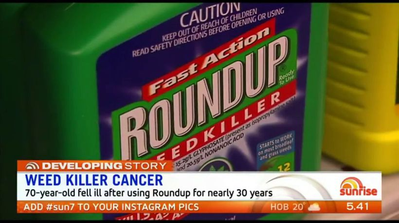 Weed killer linked to cancer