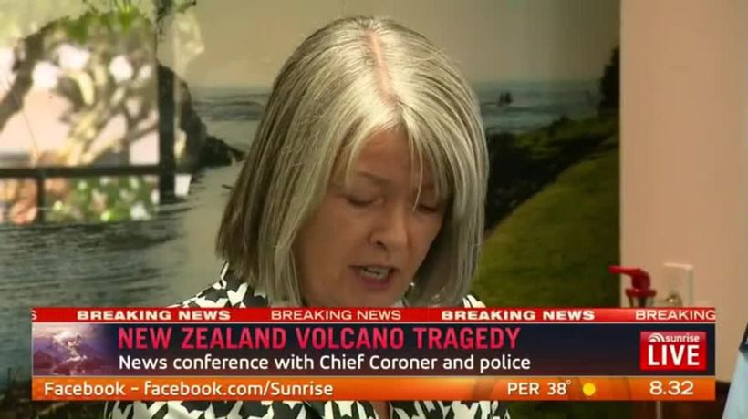 New Zealand volcano tragedy declared mass casualty event