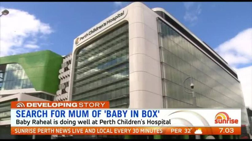 Search continues for mum of 'baby in box'
